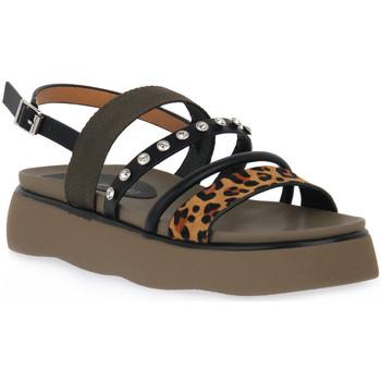 kengät Naiset Sandaalit ja avokkaat Café Noir CAFE NOIR G008SANDALO FRATE NASTRO Verde