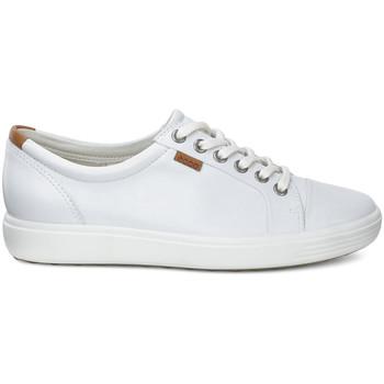 kengät Naiset Matalavartiset tennarit Ecco 43000301007 Valkoinen