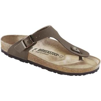 kengät Miehet Varvassandaalit Birkenstock 043751 Ruskea