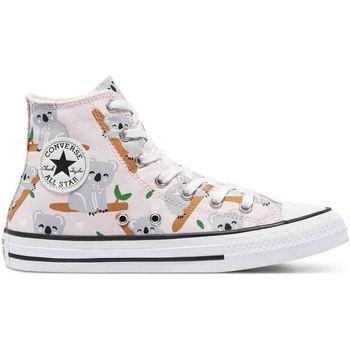 kengät Lapset Tennarit Converse 671100C Vaaleanpunainen