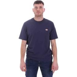 vaatteet Miehet Lyhythihainen t-paita Dickies DK0A4XDBNV01 Sininen