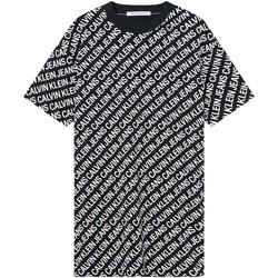 vaatteet Naiset Mekot Calvin Klein Jeans J20J215678 Musta