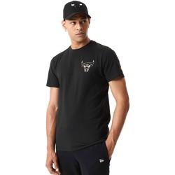 vaatteet Miehet Lyhythihainen t-paita New-Era 12590868 Musta