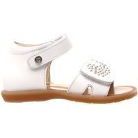 kengät Lapset Sandaalit ja avokkaat Naturino 502679 01 Valkoinen