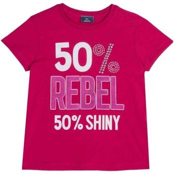 vaatteet Lapset Lyhythihainen t-paita Chicco 09067157000000 Vaaleanpunainen