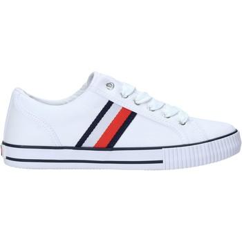 kengät Lapset Tennarit Tommy Hilfiger T3B4-31070-1185X336 Valkoinen