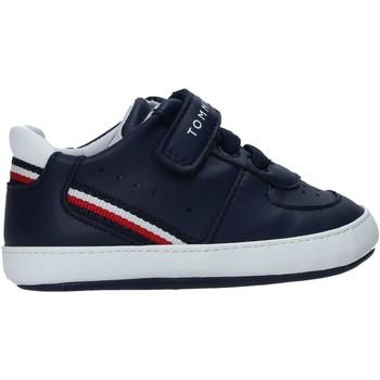 kengät Lapset Vauvan tossut Tommy Hilfiger T0B4-31063-1180X007 Sininen