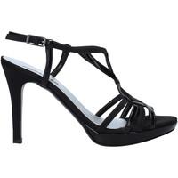 kengät Naiset Sandaalit ja avokkaat Melluso HJ428 Musta