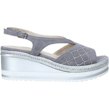 kengät Naiset Sandaalit ja avokkaat Melluso HR70734 Harmaa