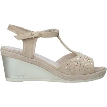 kengät Naiset Sandaalit ja avokkaat Melluso HR70511 Beige