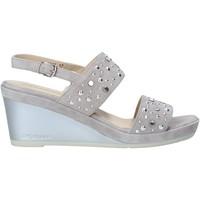 kengät Naiset Sandaalit ja avokkaat Melluso HR70531 Harmaa