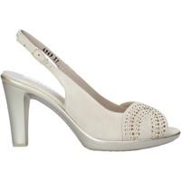 kengät Naiset Sandaalit ja avokkaat Melluso HR50117 Beige