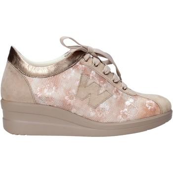 kengät Naiset Tennarit Melluso HR20128 Beige