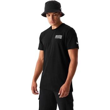 vaatteet Miehet T-paidat & Poolot New-Era 12590875 Musta