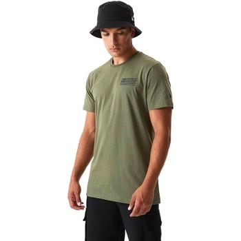 vaatteet Miehet T-paidat & Poolot New-Era 12590874 Vihreä