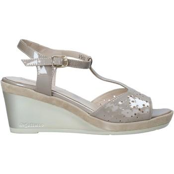 kengät Naiset Sandaalit ja avokkaat Melluso HR70520 Beige