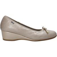 kengät Naiset Balleriinat Melluso H08123 Beige