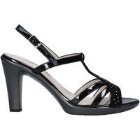 kengät Naiset Sandaalit ja avokkaat Melluso HR50134 Musta