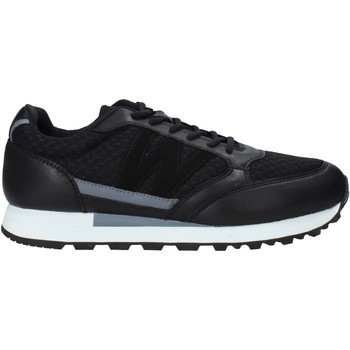 kengät Miehet Tennarit Melluso U93200X Musta