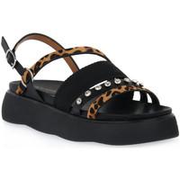 kengät Naiset Sandaalit ja avokkaat Café Noir CAFE NOIR N013 SIMMETRICO Nero