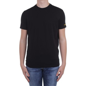 vaatteet Miehet Lyhythihainen t-paita Dsquared2 Underwear D9M203540 Black