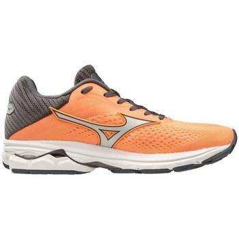 kengät Naiset Derby-kengät & Herrainkengät Mizuno Wave Rider 23 Harmaat, Oranssin väriset