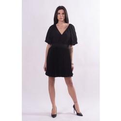vaatteet Naiset Lyhyt mekko Fracomina FQ21SD1002W412F9 Musta