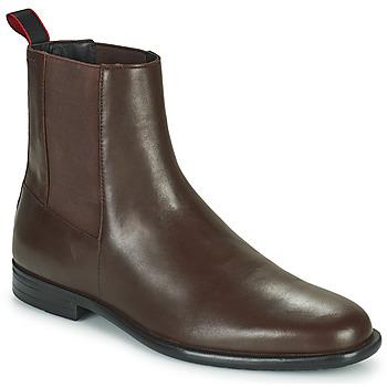 kengät Miehet Bootsit HUGO KYRON CHEB Ruskea