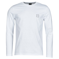vaatteet Miehet T-paidat pitkillä hihoilla BOSS TACKS Valkoinen