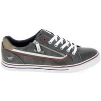 kengät Matalavartiset tennarit Mustang Sneaker 4147301 Gris fonce Harmaa