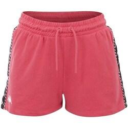vaatteet Naiset Shortsit / Bermuda-shortsit Kappa Irisha Vaaleanpunaiset