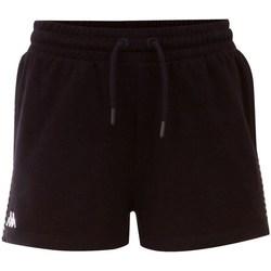 vaatteet Naiset Shortsit / Bermuda-shortsit Kappa Irisha Mustat