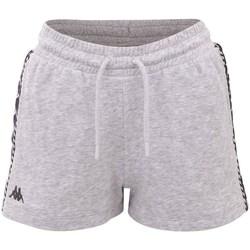 vaatteet Naiset Shortsit / Bermuda-shortsit Kappa Irisha Harmaat