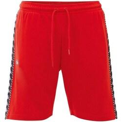 vaatteet Miehet Shortsit / Bermuda-shortsit Kappa Italo Punainen