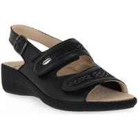 kengät Naiset Sandaalit ja avokkaat Grunland NERO 68ESTA Nero