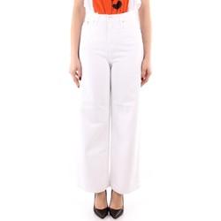 vaatteet Naiset Väljät housut / Haaremihousut Roy Rogers P21RND091P3211755 WHITE