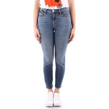 vaatteet Naiset Skinny-farkut Roy Rogers P21RND207D4221695 BLUE