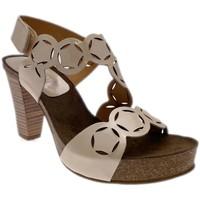 kengät Naiset Sandaalit ja avokkaat Calzaturificio Loren LOJ0846dune nero