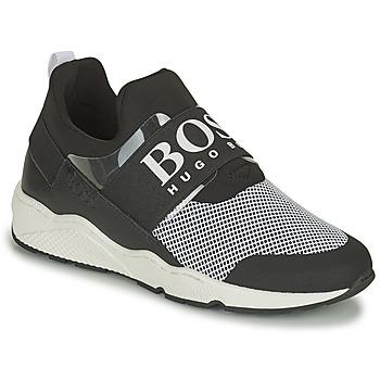 kengät Matalavartiset tennarit BOSS NATINA Musta / Valkoinen