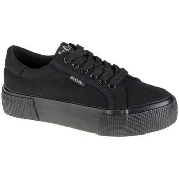 kengät Naiset Matalavartiset tennarit Lee Cooper LCW21310105L Mustat