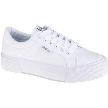 kengät Naiset Matalavartiset tennarit Lee Cooper LCW21310103L Valkoiset