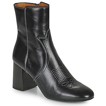 kengät Naiset Nilkkurit See by Chloé LIZZI Musta