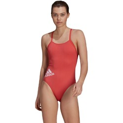 vaatteet Naiset Yksiosainen uimapuku adidas Originals Logo Punainen