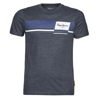 vaatteet Miehet Lyhythihainen t-paita Pepe jeans KADE Sininen