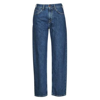 vaatteet Naiset Suorat farkut Pepe jeans DOVER Sininen