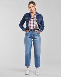 vaatteet Naiset Suorat farkut Pepe jeans DOVER Sininen / Clear