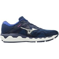 kengät Naiset Juoksukengät / Trail-kengät Mizuno Wave Horizon 4 Tummansininen