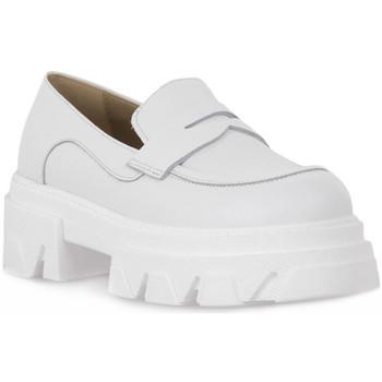 kengät Naiset Mokkasiinit Priv Lab VITELLO BIANCO Bianco