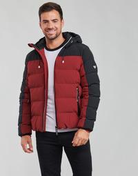 vaatteet Miehet Toppatakki Emporio Armani EA7 TRAINING CASUAL SPORTY Musta / Punainen