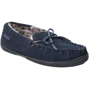 kengät Miehet Tossut Hush puppies  Navy
